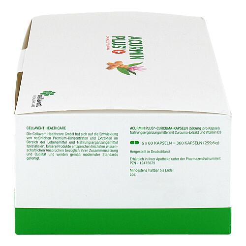 Acurmin Plus Das Mizell-Curcuma Weichkapseln - 4