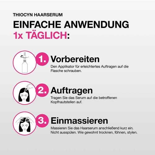 Thiocyn Haarserum Frauen bei Haarausfall* - 4