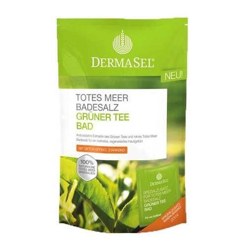 Dermasel Totes Meer Badesalz Grüner Tee Bad - 1