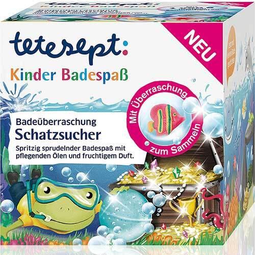 Tetesept Kinder Badespaß Schatzsucher - 1