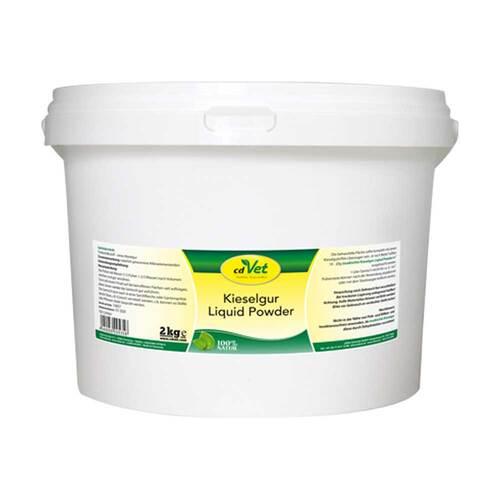 Kieselgur Liquid Powder vet. (für Tiere) - 1