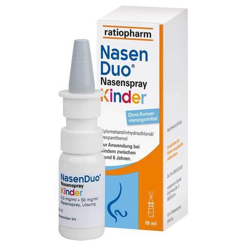 NasenDuo Nasenspray Kinder - 1
