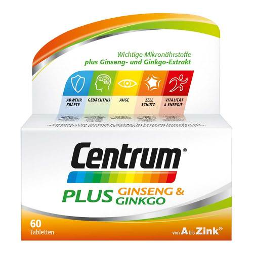 Centrum Plus Ginseng & Ginkgo Tabletten - 1