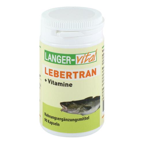 Lebertran + Vitamine A und D3 Kapseln - 1