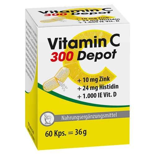 Vitamin C 300 Depot + Zink + Histidin + D Kapseln - 1