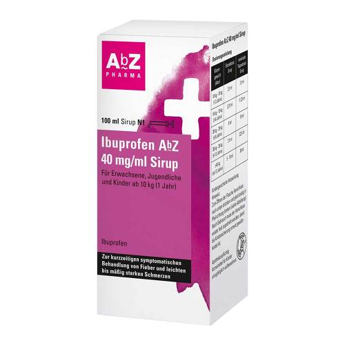 Ibuprofen AbZ 40 mg / ml Sirup - 1