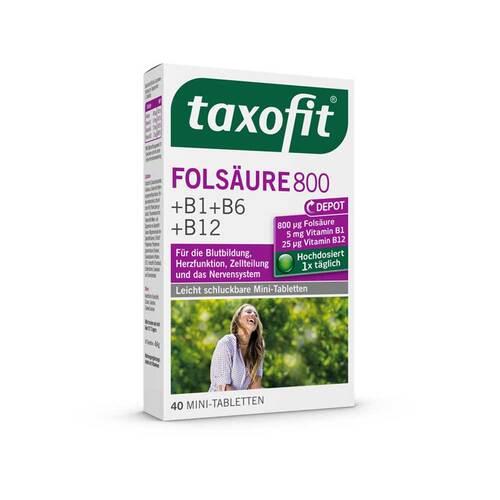 Taxofit Folsäure 800 Depot Tabletten - 1