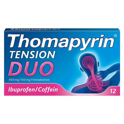 Thomapyrin Tension Duo 400 mg / 100 mg Filmtabletten - 1