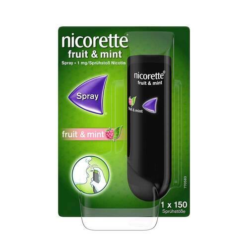 Nicorette Fruit & Mint Spray 1 mg / Sprühstoß - 1