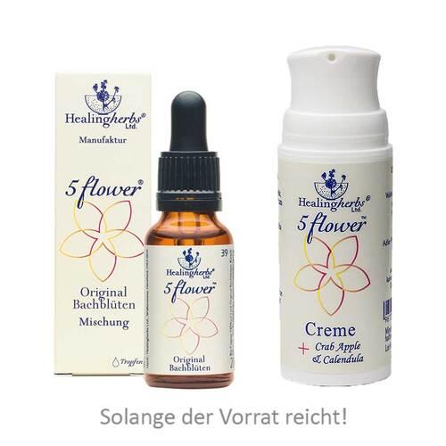 Bach Kombination 5 Flower Notfalltropfen Healing Herbs - 1