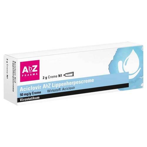 Aciclovir AbZ Lippenherpescreme - 1