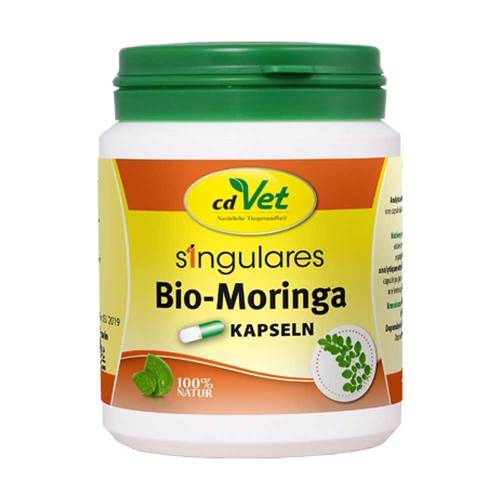 Singulares Bio-Moringa Kapseln vet. (für Tiere) - 1