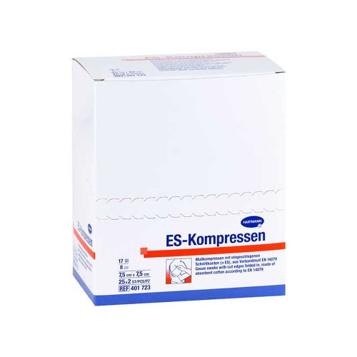 ES-Kompressen steril 7,5x7,5 cm 8fach 50 St. - 1