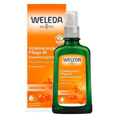Weleda Sanddorn vitalisierendes Pflege-Öl - 1