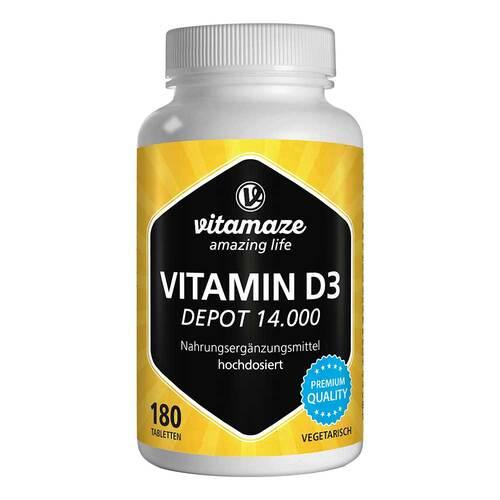 Vitamin D3 14.000 I.E. Depot hochdosiert Tabletten - 1