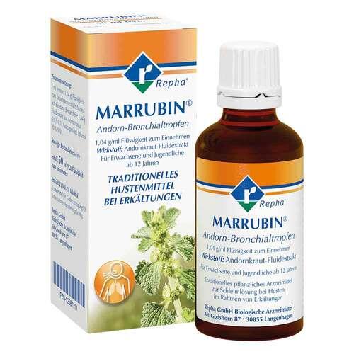 Marrubin Andorn-Bronchialtropfen - 1