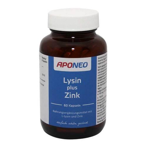 APONEO Lysin plus Zink Kapseln - 1