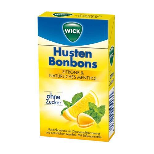 WICK Zitrone & nat.Menthol Bonbons ohne Zucker Clickbox - 1