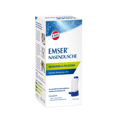 Emser Nasendusche mit 4 Beutel Nasenspülsalz - 1