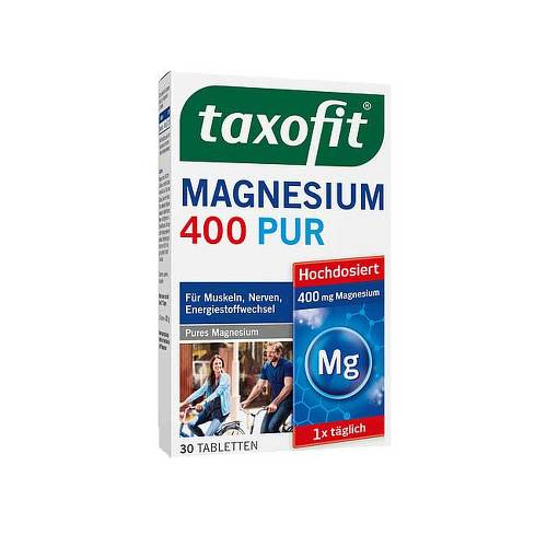 Taxofit Magnesium 400 Pur Tabletten - 1