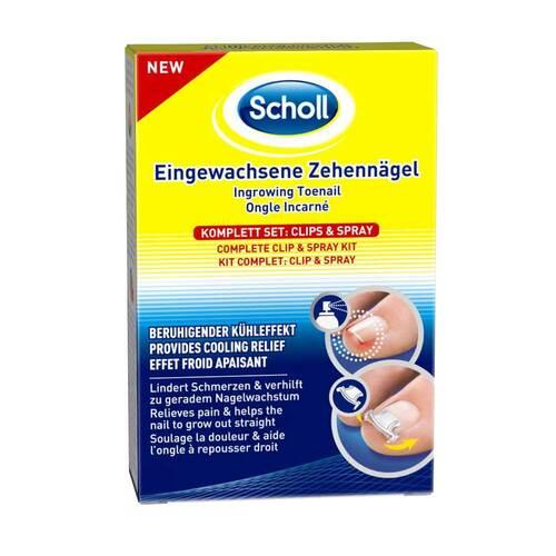 Scholl Eingewachsene Zehennägel Clips & Spray - 1