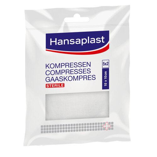 Hansaplast Kompressen steril 10x10 cm - 1