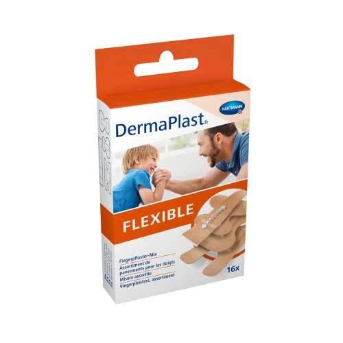 Dermaplast Flexible Fingerpflastermix 4 Größen - 1
