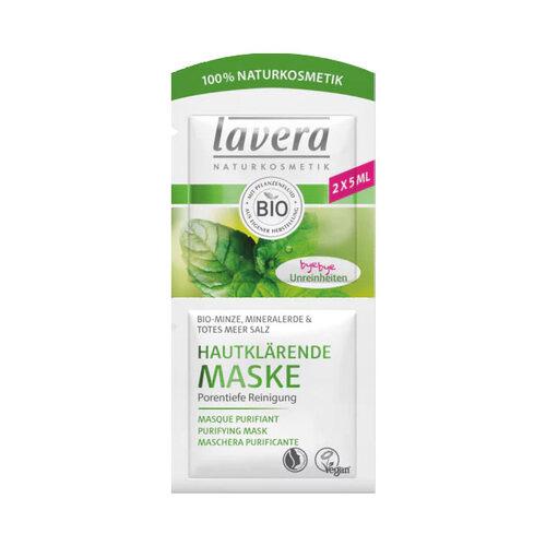 Lavera hautklärende Maske Minze - 1