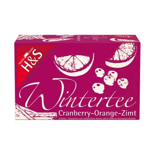 H&S Wintertee Cranberry-Orange-Zimt Filterbeutel - 1