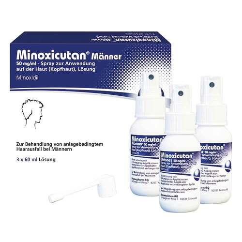 Minoxicutan Männer 50 mg / ml Spray - 1