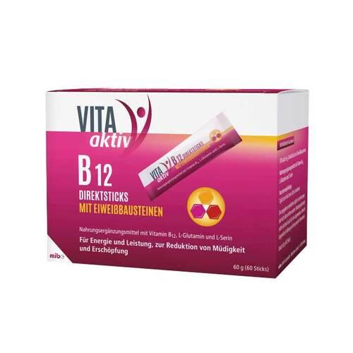 Vita Aktiv B12 Direktsticks mit Eiweißbausteinen - 1