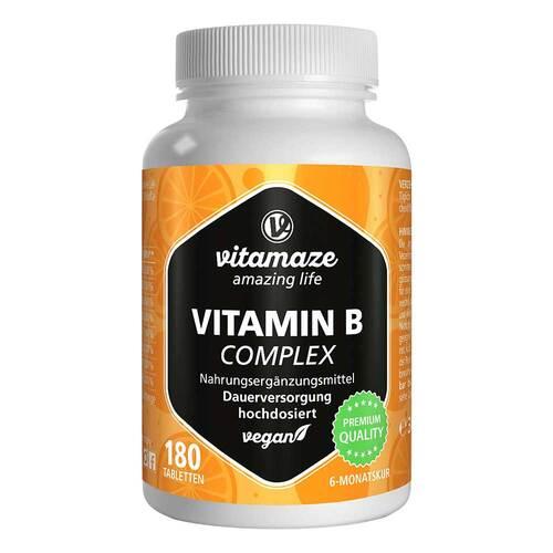 Vitamin B Complex hochdosiert vegan Tabletten - 1