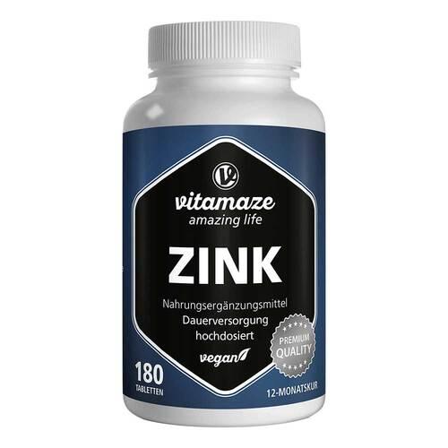 Zink 25 mg hochdosiert vegan Tabletten - 1
