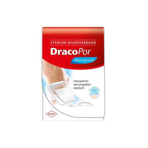 Dracopor waterproof Wundverband 8x15 cm steril - 1
