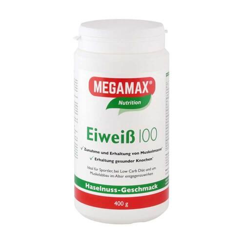 Eiweiss 100 Haselnuss Megamax Pulver - 1