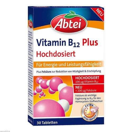 Abtei Vitamin B12 + Folsäure Tabletten - 1