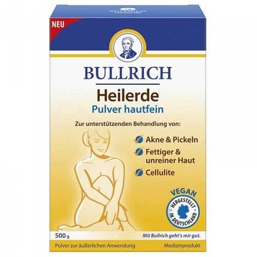 Bullrich Heilerde Pulver hautfein - 1