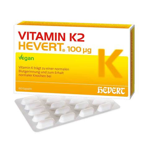 Vitamin K2 Hevert 100 µg Kapseln - 1