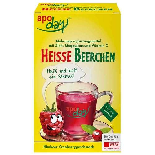 Apoday heiße Beerchen + Vitamin C + Zink + Magnesium Pulver - 1