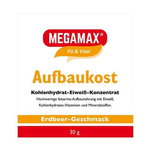 Megamax Aufbaukost Erdbeere Pulver - 1