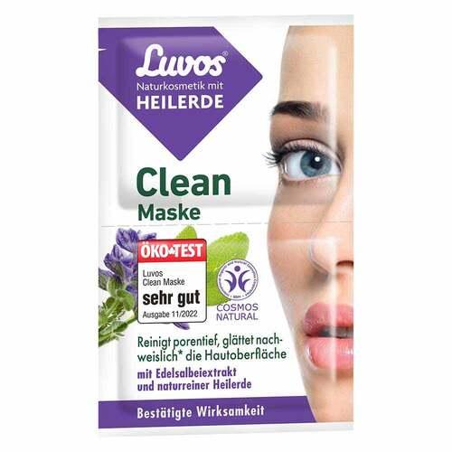 Luvos Naturkosmetik Heilerde Clean-Maske - 1