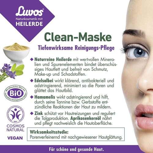 Luvos Naturkosmetik Heilerde Clean-Maske - 4