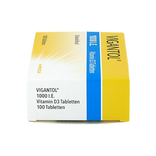 Vigantol 1.000 I.E. Vitamin D3 Tabletten - 4
