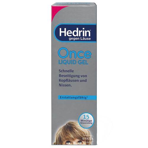 Hedrin Once Liquid Gel - 1