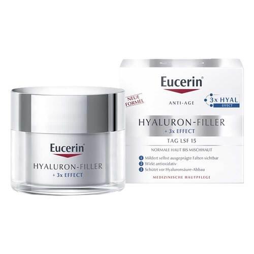 Eucerin Hyaluron-Filler Tagespflege für normale und Mischhaut Tiegel - 1