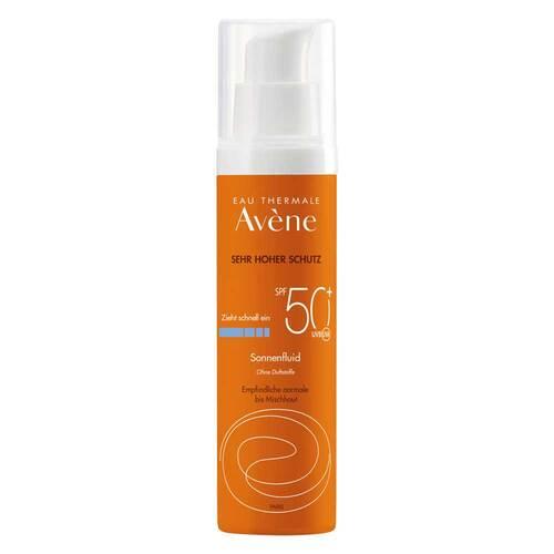 Avene Sunsitive Sonnenfluid SPF 50+ ohne Duftstoffe - 1