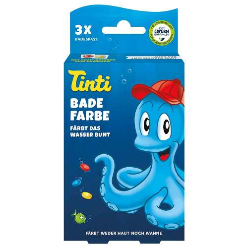 Tinti Badefarbe 3er Pack Displayschale - 1