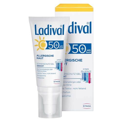 Ladival allergische Haut Gesichts-Gel LSF 50+  - 1