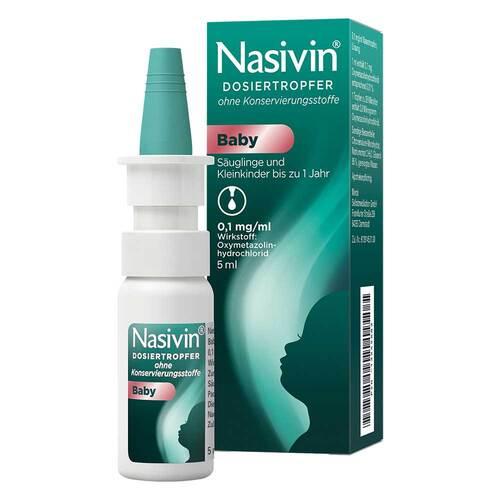 Nasivin Dosiertropfer Baby ohne Konservierungsstoffe - 1