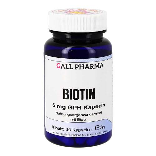 Biotin 5 mg GPH Kapseln - 1
